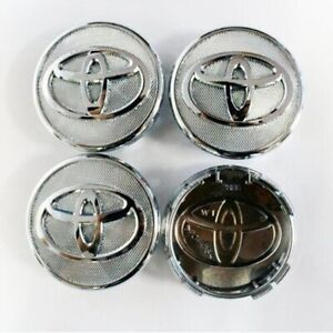 4x 57mm Toyota Car Wheel Center Cap Car Sticker Hub Cap Emblem Badge