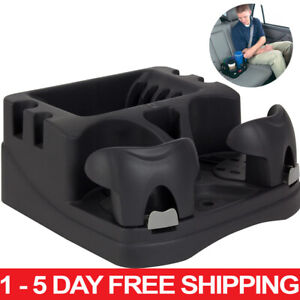 Car Center Universal Floor Console Storage Organizer Box Holder Cup Black Rv