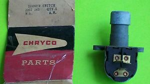 1959 1960 Nos Chrysler Headlamp Dimmer Switch Buick Chevrolet Olds Cad Pontiac