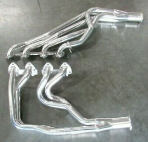66 69 Ford Mercury Maverick Falcon Fe 390 428 Comp Header Ceramic Bph 2061h