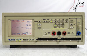 21603 Huntron Component Circuit Analyzer Tracker 2700s