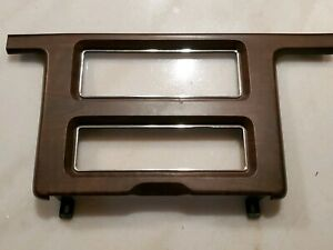 1988 1991 1989 1990 Ford Crown Victoria Center Console Wood Grain Trim Bezel