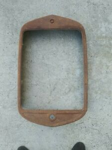 1930 31 Ford Pickup Commercial Truck Radiator Shell Nice Original 30 31 Grille
