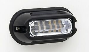 Whelen Linz6 Linz6c Linear Super led Lighthead With Black Flange Clear white