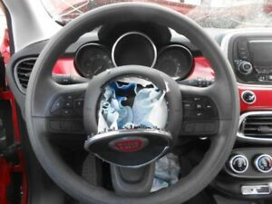 Charcoal Grey Urethane Steering Wheel With Control Buttons Fits 16 Fiat 500x