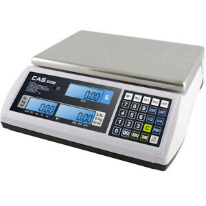 Cas S2jr60l Price Computing Scale With Lcd Display 60lb X 0 02lb Ntep