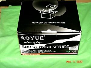 New In Box Aoyue Int852a Hot Air Rework Station Untested For Parts