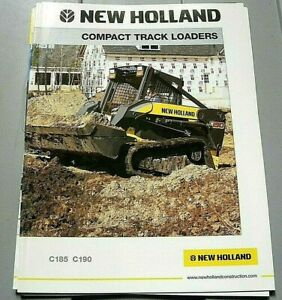 Factory 2006 New Holland Compact Track Loader Series Dealership Brochure Manual