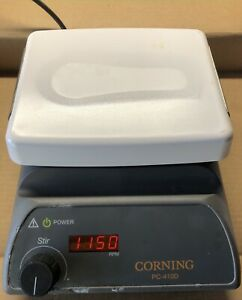 Corning 6795 Pc410d Laboratory Magnetic Stirrer 5 x7 Plate Digital Rpm Display