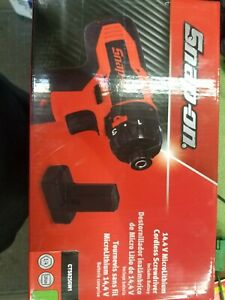Brand New Snap On 1 4 Hex Microlithium Cordless Screwdriver Kit Cts825gw1