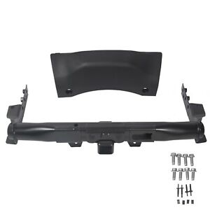 For 14 19 Dodge Durango Trailer Hitch Receiver With Cover Bezel Hardware