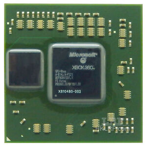 Microsoft Xbox360 Gpu X810480 Bga Chip With Leaded Solder Balls