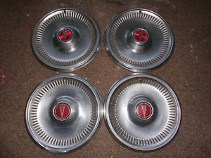 Vintage Oem Gm Pontiac Hub Cap Wheel Center Cap Set Of 4 Buick Oldsmobile