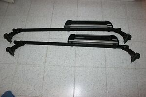 Thule Roof Rack 369 Load Bar Rooftop Skifits Mercedes S And Bmw5 Series