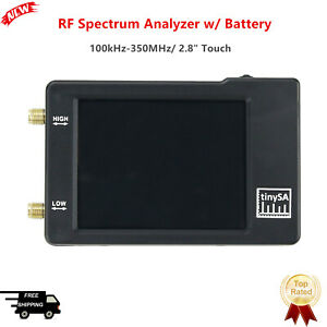 For Tinysa Handheld Rf Spectrum Analyzer 2 8 Touch Screen W Battery Four Modes