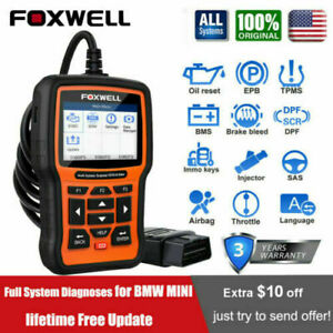 Foxwell Nt650 Elite Auto Obd2 Scanner Diagnostic Abs Epb Srs Tpms Dpf Injector