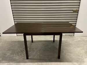Edward Wormley For Dunbar Flip Top Card Dining Table With Pivoting Top Mcm