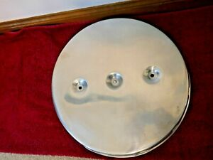 C1 1960 62 Corvette Repro Used 2x4 Dual Four Barrel Air Cleaner Lid Only283 327
