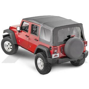 Crown Automotive Rt11035t Oem Replacement Soft Top 2007 2009 Jeep Wrangler Jku 4