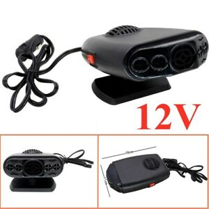 12v Car Auto 150w Portable Electric Heater Heating Fan Defroster Demister
