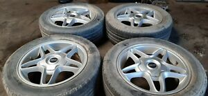 2008 2013 Mini Cooper Clubman 16 Inch Rims W Tires Set Worn Oem