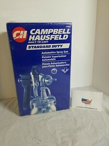 New Campbell Hausfeld Standard Duty Automotive Spray Gun Dh6500 Factory Sealed
