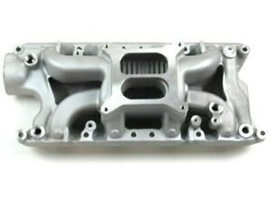 Ford Sbf 260 289 302 Aluminum Air Gap Intake Manifold 1500 6500 Satin Bpe 4014