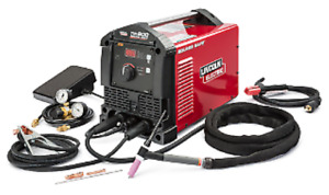 Lincoln Square Wave Tig 200 Welder New 3 yr Warranty free Shipping