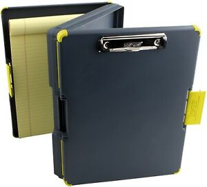 Clipboard Case Organizer Duo And Two sided Storage Case Orange Durable New