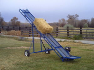 Conveyor Plans Small Hay Bale Or Firewood Plans In pdf Format