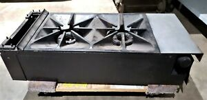 2 Eye Natural Gas Countertop Stove
