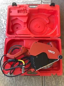 Hilti Dch 300 Diamond Cutter Concrete Saw