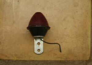 B27 Vintage Beehive Red Bullet Brake Light Pm 110 Used Untested