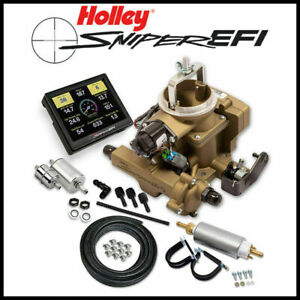 Holley Sniper Master Efi 1971 86 Jeep Cj 258 6 Cyl Self Tuning Fuel Injection