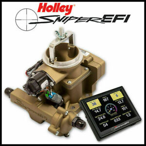 Holley Sniper Efi Bbd Self Tuning Fuel Injection 1971 1986 Jeep Cj 258ci 6