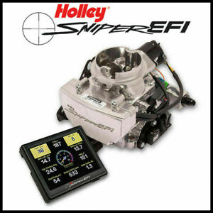 Holley Sniper Efi Self Tuning Fuel Injection Conversion Gm Rochester 2 Barrel