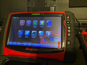 Snapon Verus Pro Diagnostic Scan Tool Eems327 Scanner Snap On 20 4 Complete Set