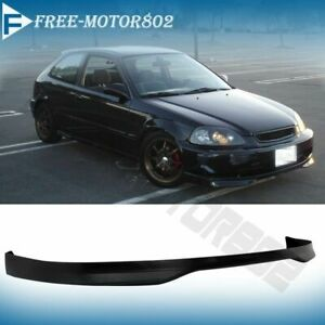 Fit For 96 98 Honda Civic Type R Jdm Front Bumper Lip Spoiler