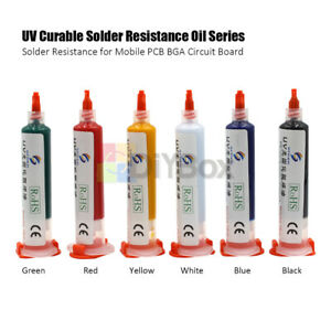 Uv Curable Solder Mask Oil Welding Repairing Paint For Pcb Bga Circuit Board