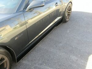 Camaro 5th Gen Hardcore Side Skirts And 4 Rock Guards 2010 15