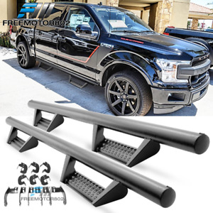 Fits 15 20 Ford F 150 Supercrew Cab Bck Style Side Step Nerf Bars