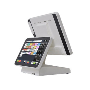 15 Dual Screen Point Of Sales Pos System For Retailers Commercial Pos Terminal
