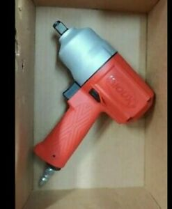 New Snap On Air Powered 1 2 Drive Premium Red Impact Wrench Gun Very Powerful