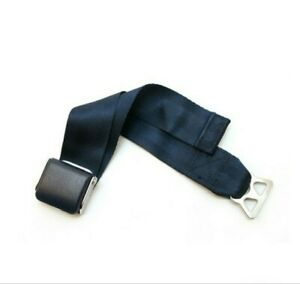 Airplane Seat Belt Extender For Southwest Airlines E9 Safety Certified Blue