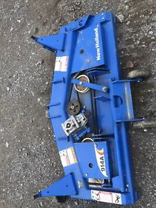 New Holland 914a 60 Mulching Belly Mower Deck Complete New