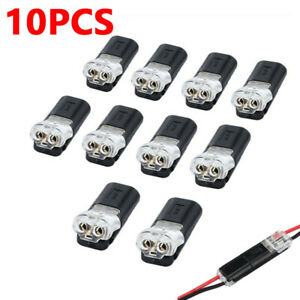 10 X 2 Pin Way Plug Car Waterproof Electrical Connector Wire Cable Automotive