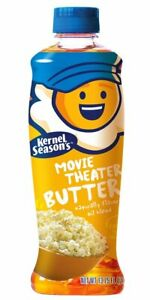 Butter Popcorn Topping Kernel Seasons Movie Theater Butter