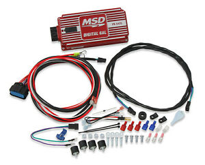 Msd 6425 6al Digital Ignition Box With Rev Limiter Free Shipping