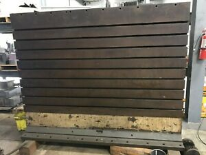 Large Angle Plate Fixture Boring Mill Work Holding 7 L X 5 6 H X 29 W