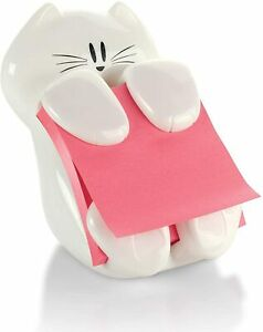 Post it Pop up Note Dispenser Cat Design Hold 3 X 3 Sticky Notes 45 Sheets